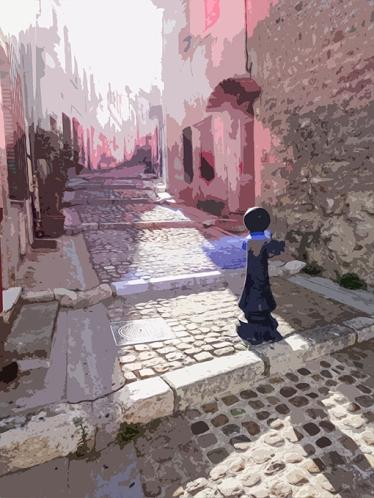 Street, Arles